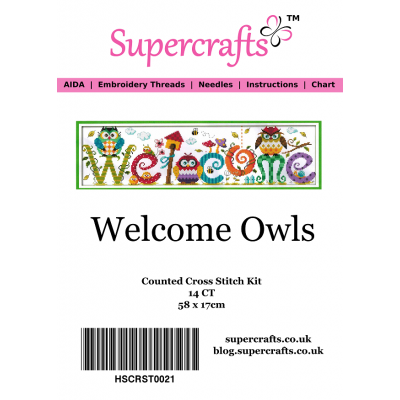 Welcome Owls Counted Cross...