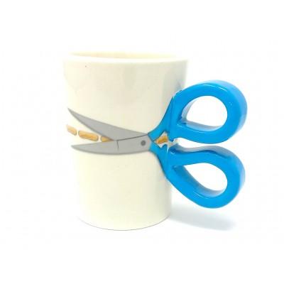 Blue Sewing Themed Mug