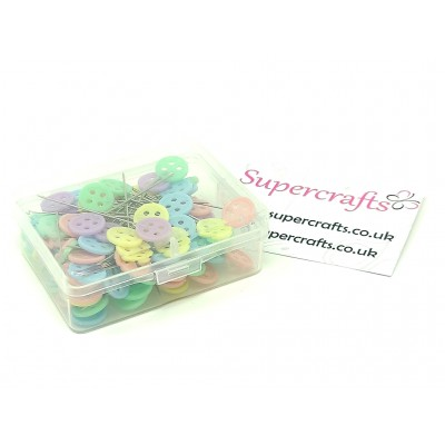 Set of 100 Button Head...